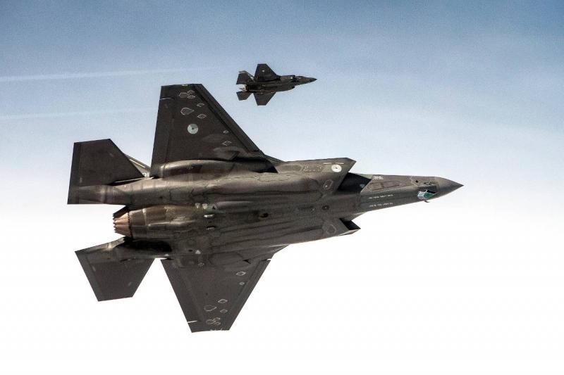 Archieffoto van Defensie van een F-35 (afbeelding: Defensie)