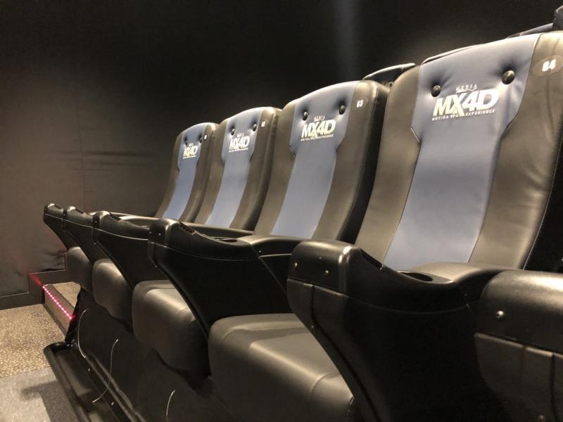 MX4D-stoelen