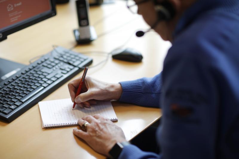 Eenzaamheidslijn ontvangt honderden telefoontjes (Foto: De Luisterlijn )