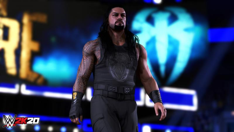 WWE 2K20 - Roman Reigns (Foto: 2K Games)
