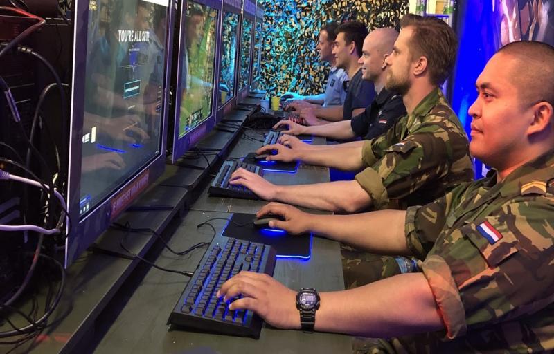 Defensie zoekt gamers