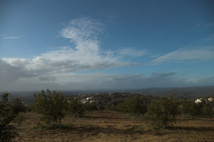 Wolken in Portugal