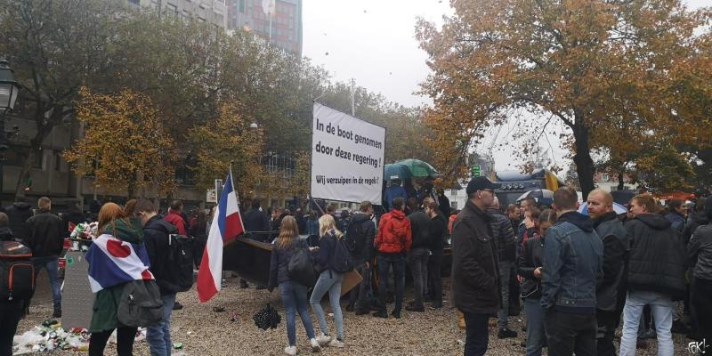 Boerenprotest in Den Haag (Foto: FOK!)