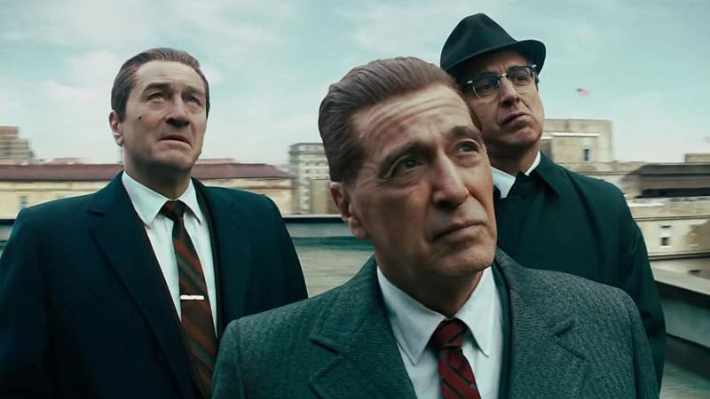 The Irishman: Robert De Niro, Al Pacino