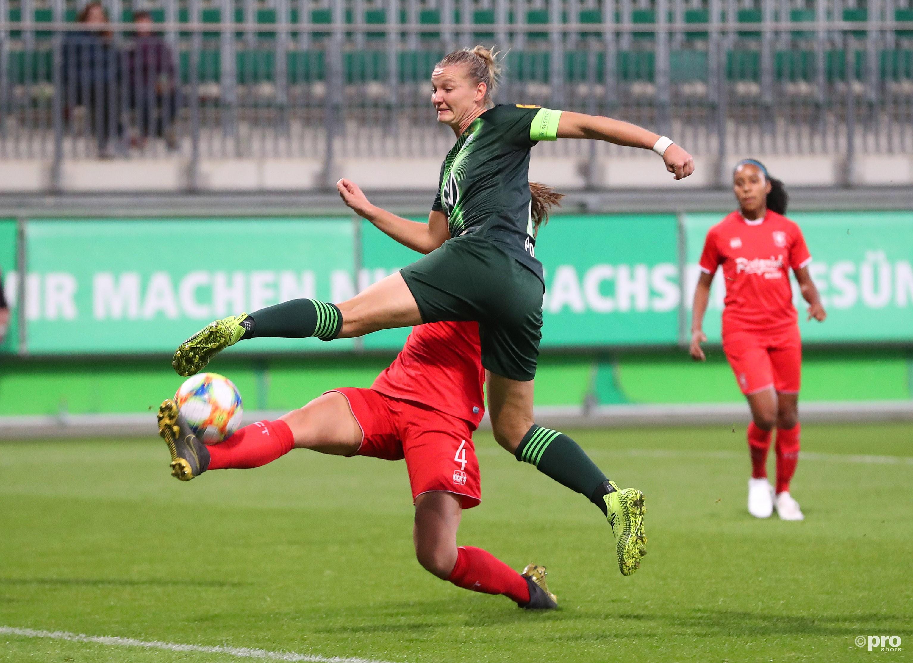 Wolfsburg boekt grote zege op FC Twente. (PRO SHOTS/Imago)