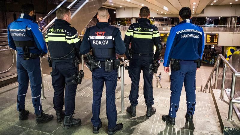 Preventieve acties in Rotterdam na eerdere ongeregeldheden (Afbeelding: Politie)