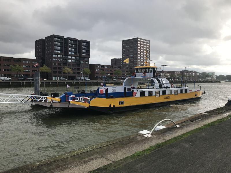 Renovatie fiets- en voetgangersdeel Maastunnel van start  (Foto: Gemeente Rotterdam )