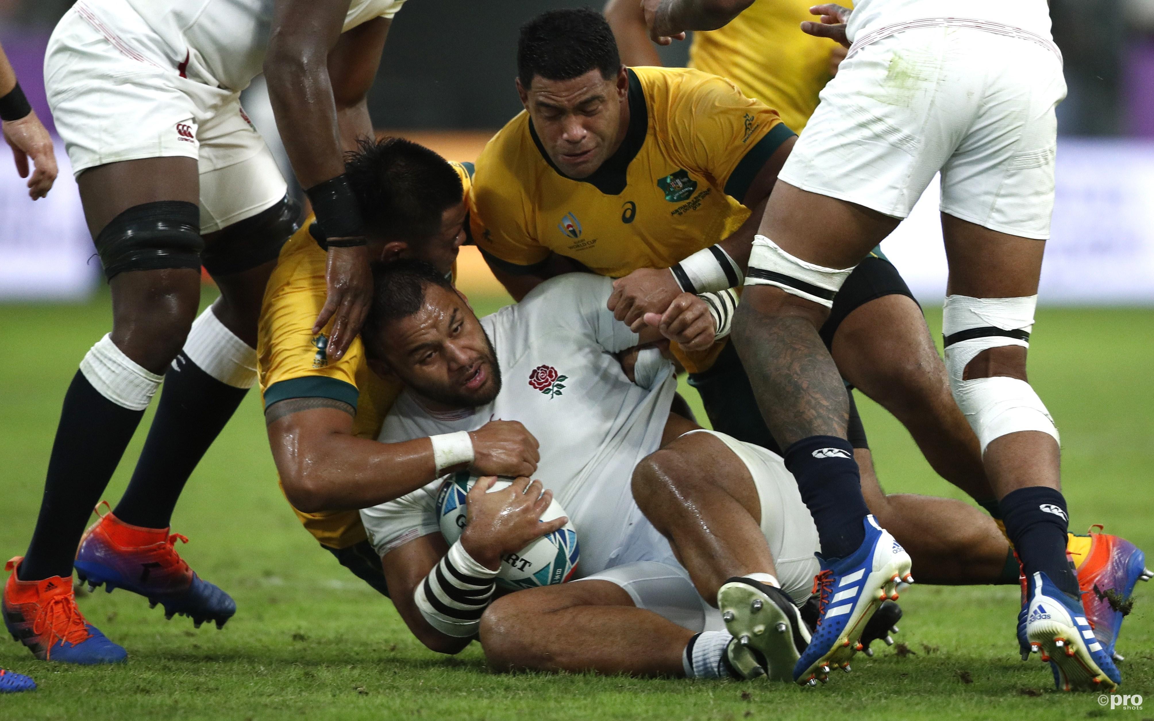 Engeland wint van Australië. (PRO SHOTS/Action Images)
