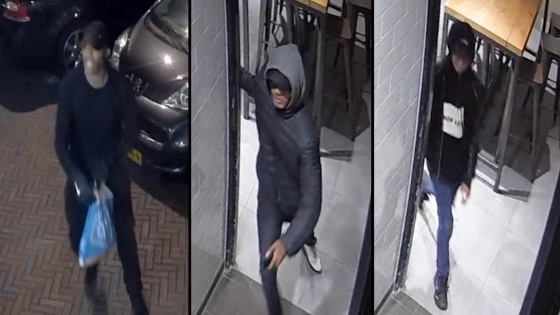 Politie geeft beelden overval op pizzeria Zoetermeer vrij (Foto: Politie)