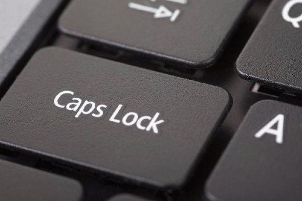 HARTELIJK CAPS LOCK DAG (WIKICOMMONS/BÜSRA ÖZCOŞKUN)