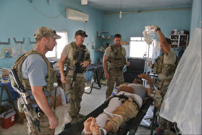Chirurgische ondersteuning voor special forces (Afbeelding: Defensie)