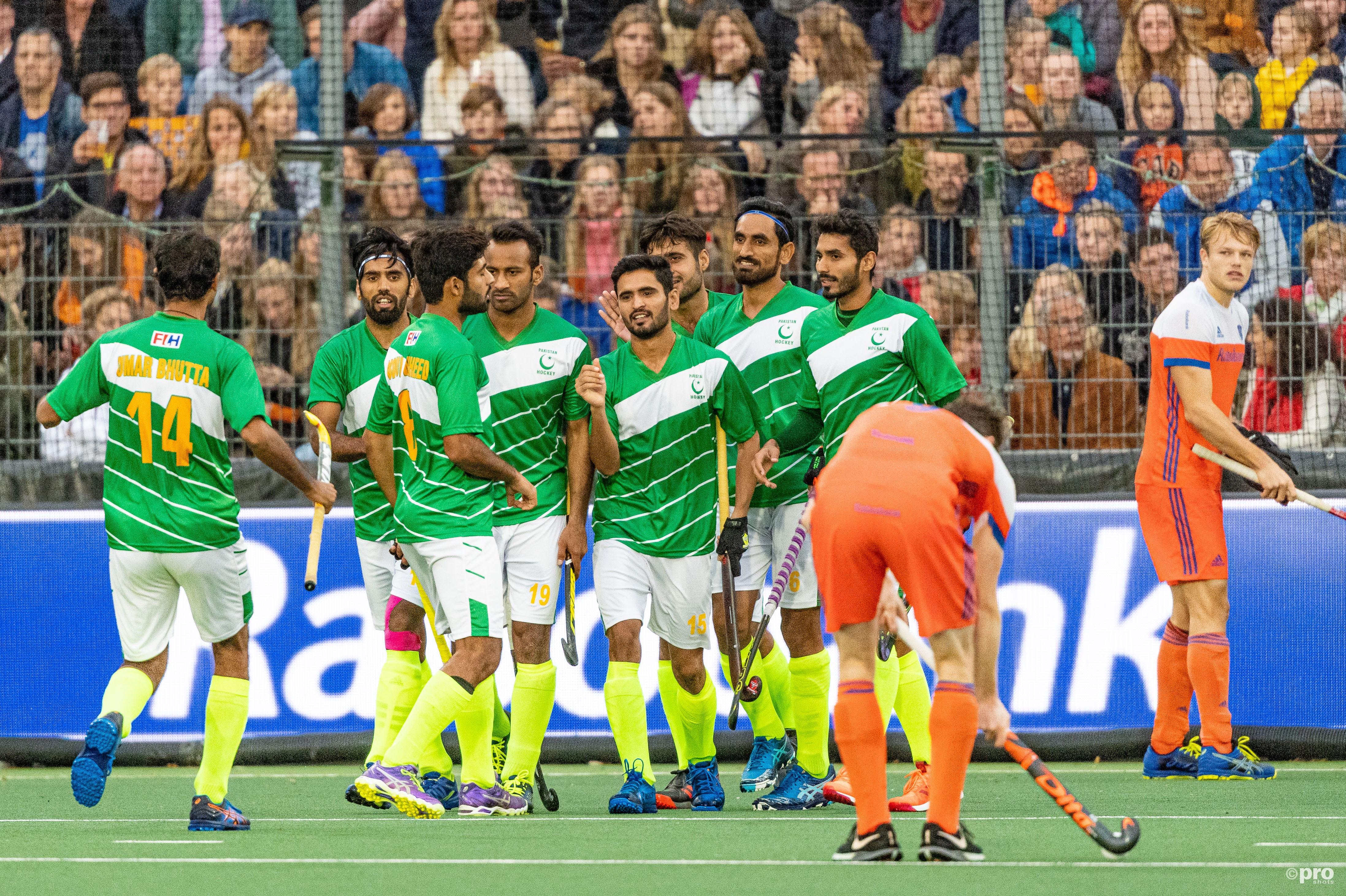 Nederland 4-4 Pakistan. (PRO SHOTS/Bart Scheulderman)