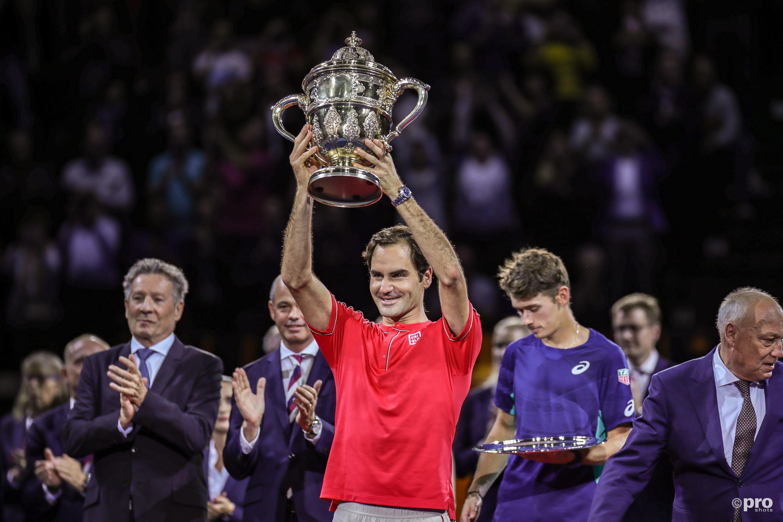 Federer wint in Basel. (PRO SHOTS/Imago)