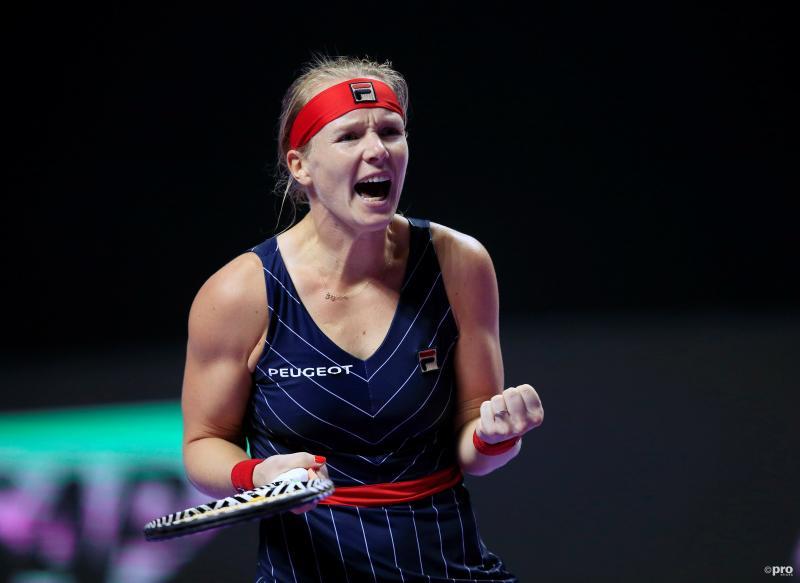 Bertens verslaat als eerste geplaatste Barty op WTA Finals (Pro Shots / Action Images)