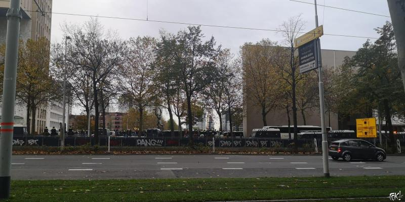 Koerdische demonstratie in Rotterdam (Foto: FOK!)