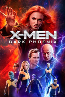 Dark Phoenix bluray cover