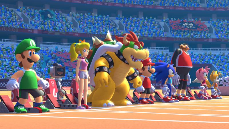 Mario & Sonic at the Olympic Games Tokyo 2020 (Foto: Nintendo)