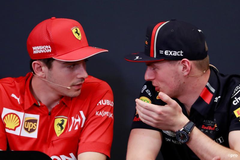 """Leclerc over Verstappen: """"Ik vind het eerlijk gezegd een grote grap"""" (Pro Shots / Action Images)"""