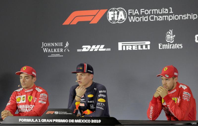 """Verstappen over Ferrari: """"Dat krijg je als je stopt met valsspelen!"""" (Pro Shots / Action Images)"""