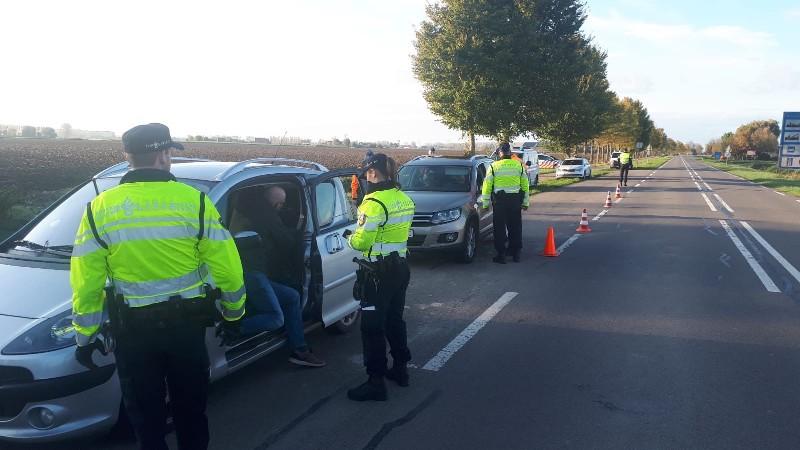173 voertuigen gecontroleerd bij internationale verkeerscontrole (Afbeelding: Politie)
