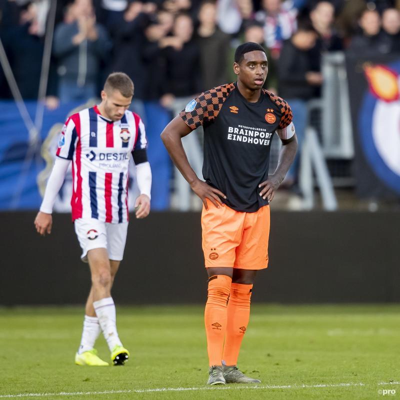 """PSV-aanvoerder Rosario: """"Ik zou het niet weten hoe we hieruit komen"""" (Pro Shots / Joep Leenen)"""