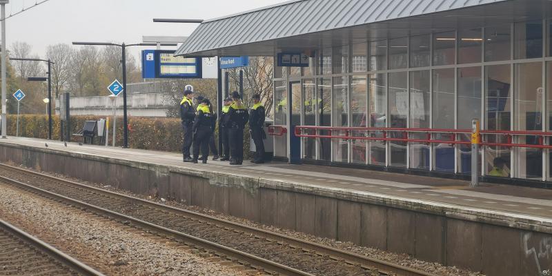 Agenten wachten KOZP op in Alkmaar