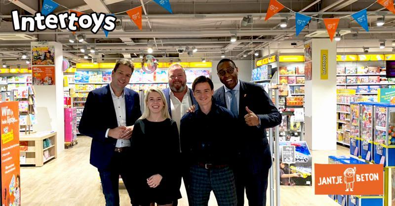 Intertoys start donatie-actie voor Jantje Beton  (Foto: Jantje Beton )