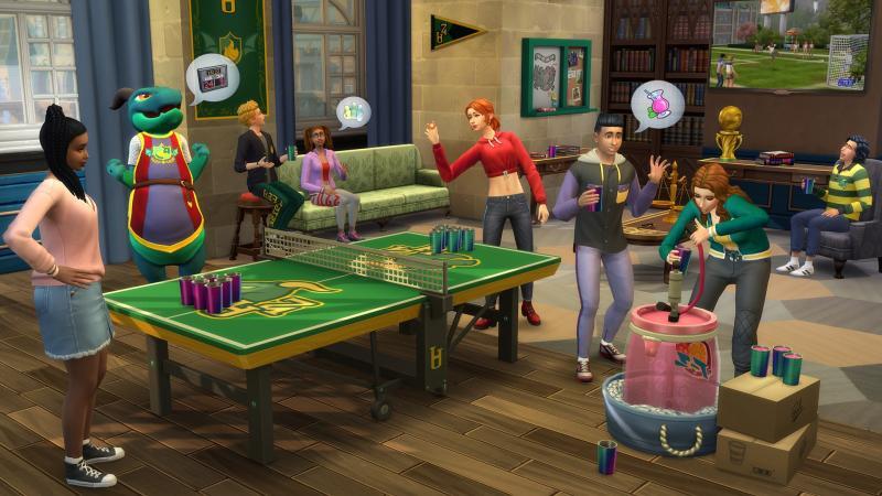 De Sims 4 Studentenleven (Foto: Electronic Arts)