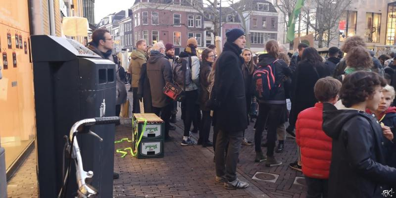 Fridays for Future - Utrecht  (Foto: FOK! )