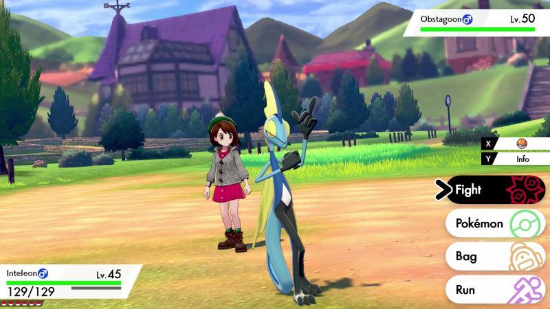Pokémon Sword/Shield - Battle UI (Foto: Nintendo)