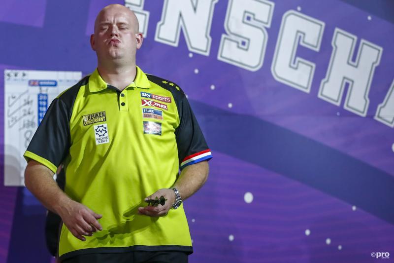 """Van Gerwen: """"Ik ga nooit van mijn leven naar dat Sportgala"""" (Pro Shots / Michael Bulder)"""