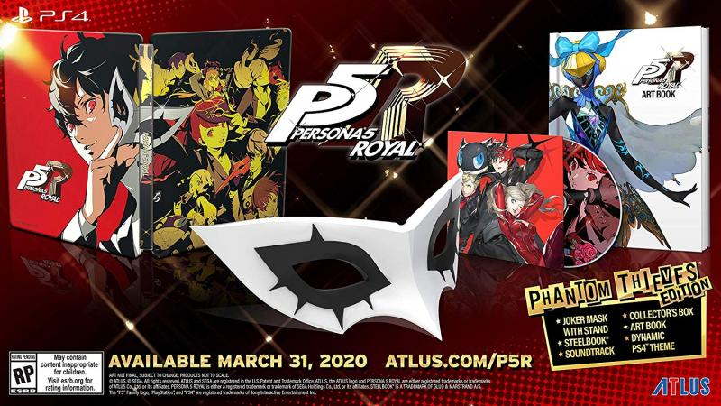 Persona 5 Royal date + special edition