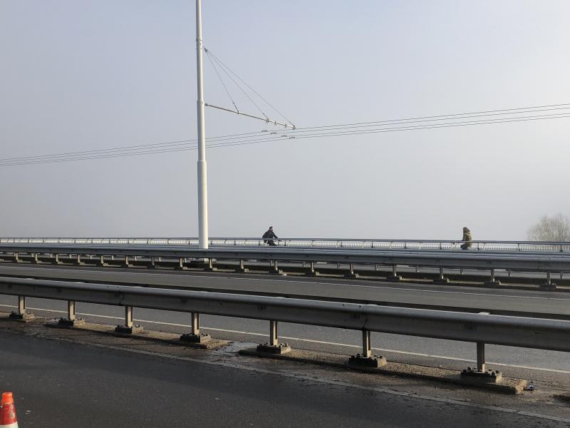 Gisteren bij het weerbericht een foto met nog aardig zicht. Kwartiertje later en alles zat dicht in Arhnhem (Foto: Charged)