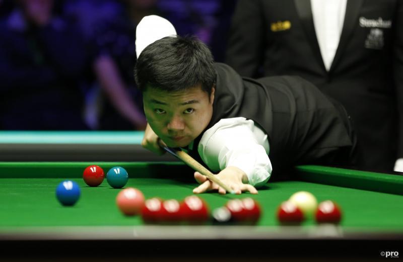 Snookeraar Ding Junhui wint voor derde keer UK Championship (Pro Shots / SIPA USA)