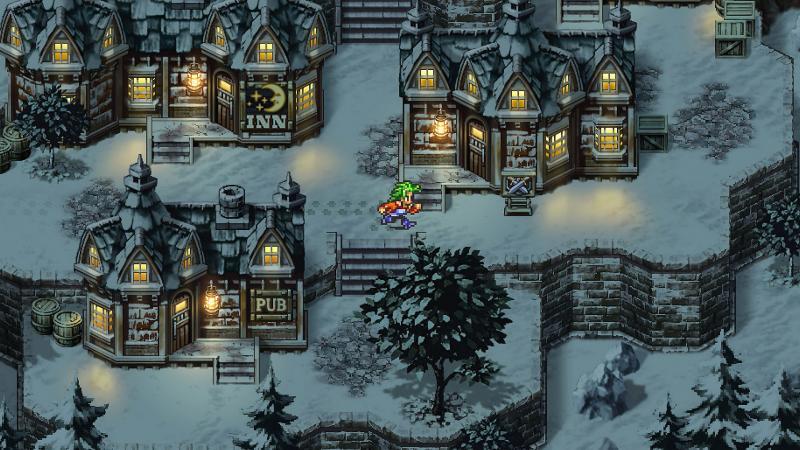 Romancing Saga 3 - Village (Foto: Square Enix)