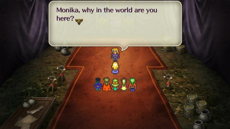 Romancing Saga 3 - Dialogue (Foto: Square Enix)