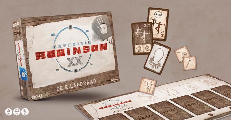Expeditie Robinson - De Eilandraad (Afbeelding; Just Games)