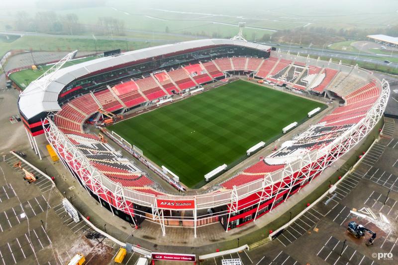 AZ mag voor duel met Ajax terugkeren in AFAS Stadion (Pro Shots / Koen Laureij)