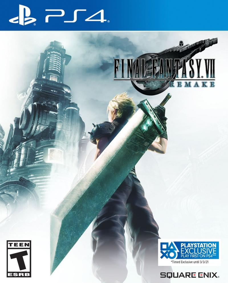 Final Fantasy VIII Remake box-art