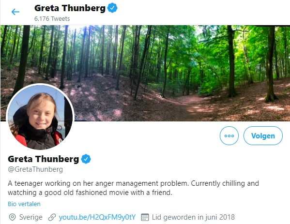 Greta luistert goed naar Donald