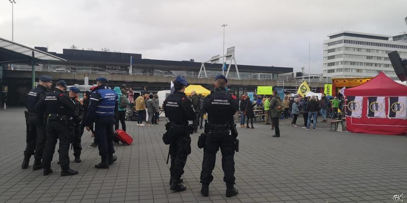 Protestival Schiphol dag twee  (Foto: FOK! )