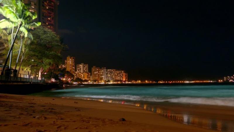 Je zou maar op Hawai zijn, zoals een bekende van me...