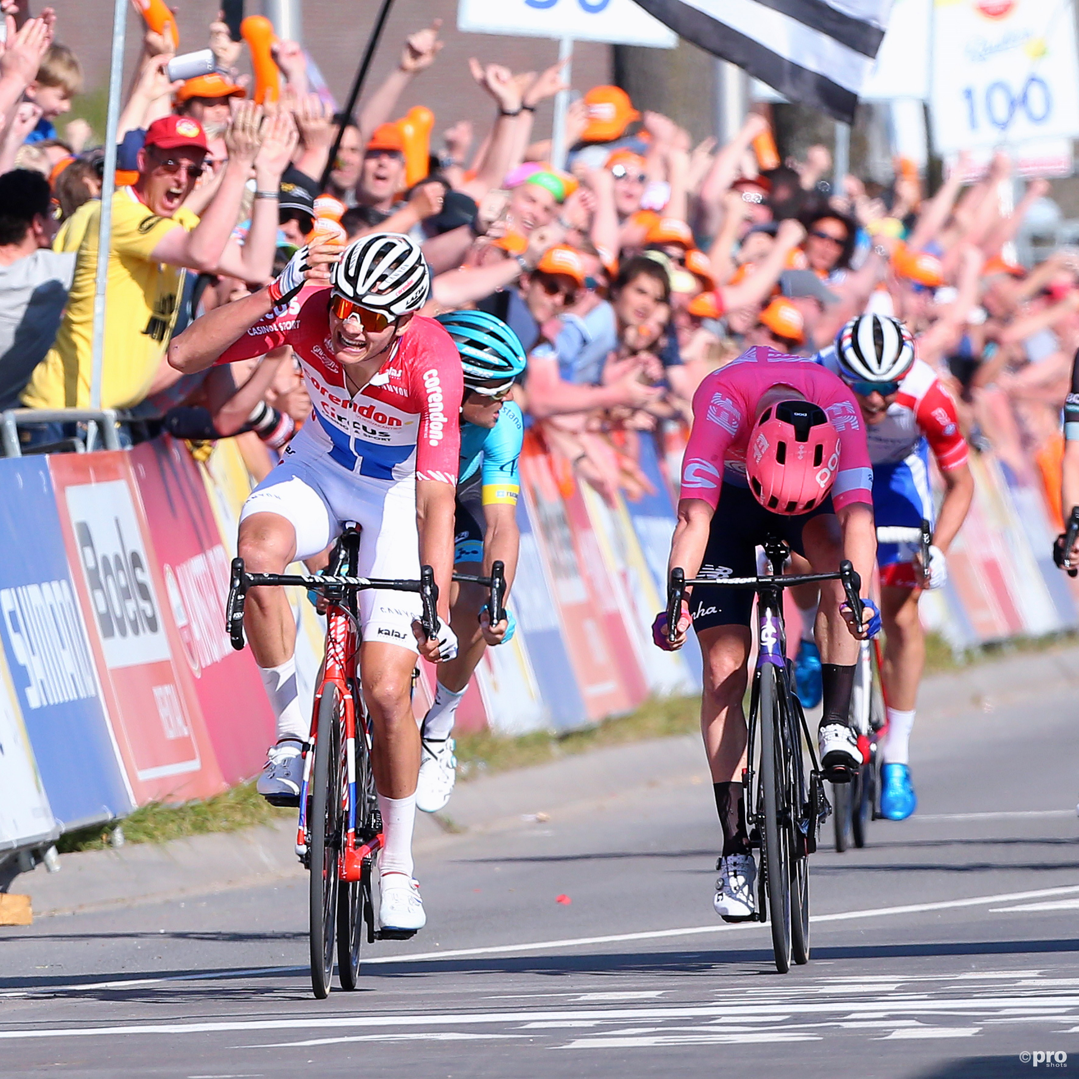 Mathieu van der Poel wint Amstel Gold Race (Pro Shots / George Deswijzen)