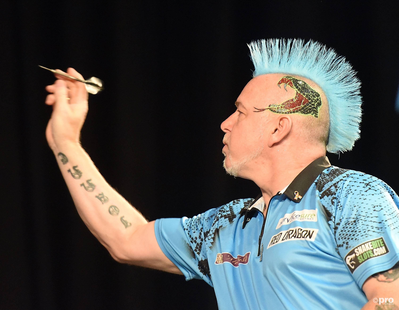 Peter Wright is wereldkampioen. (PRO SHOTS/Imago)