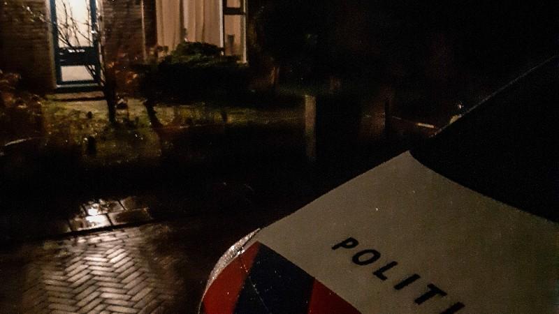 Politieagenten beschoten in Paterswolde (Afbeelding: Politie)
