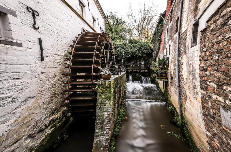 Klapmongeaul was in Maastricht en zag daar dit schilderachtige tafereel  (Foto: Klapmongeaul)
