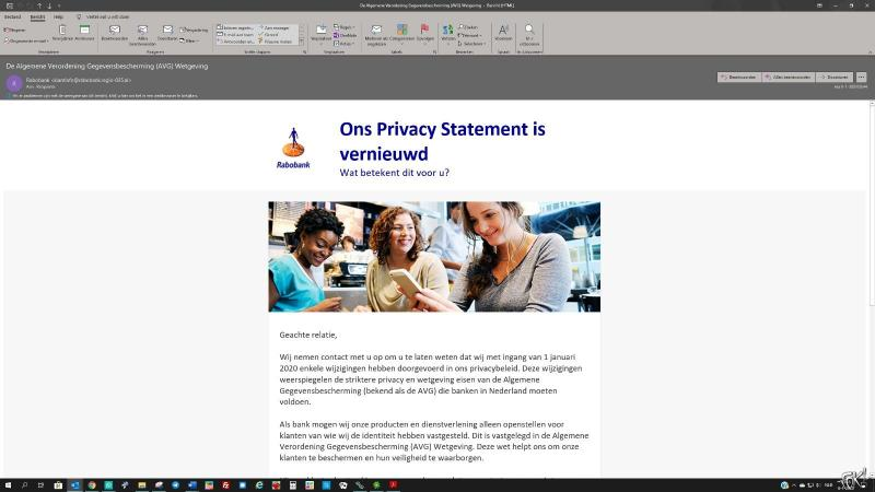 Valse email Rabobank