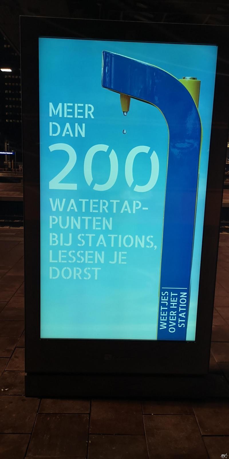 NS maakt drinkwaterbelofte niet waar  (Foto: FOK! /DJMO )
