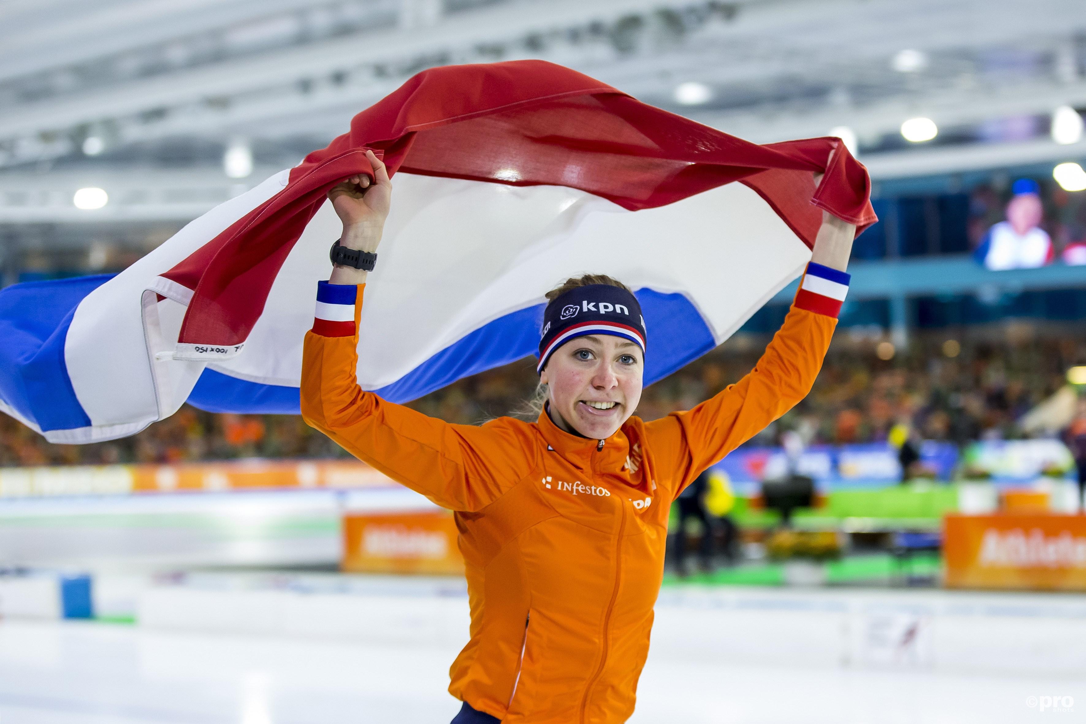 Visser prolongeert EK-titel op 3000 meter (Pro Shots / Erik Pasman)