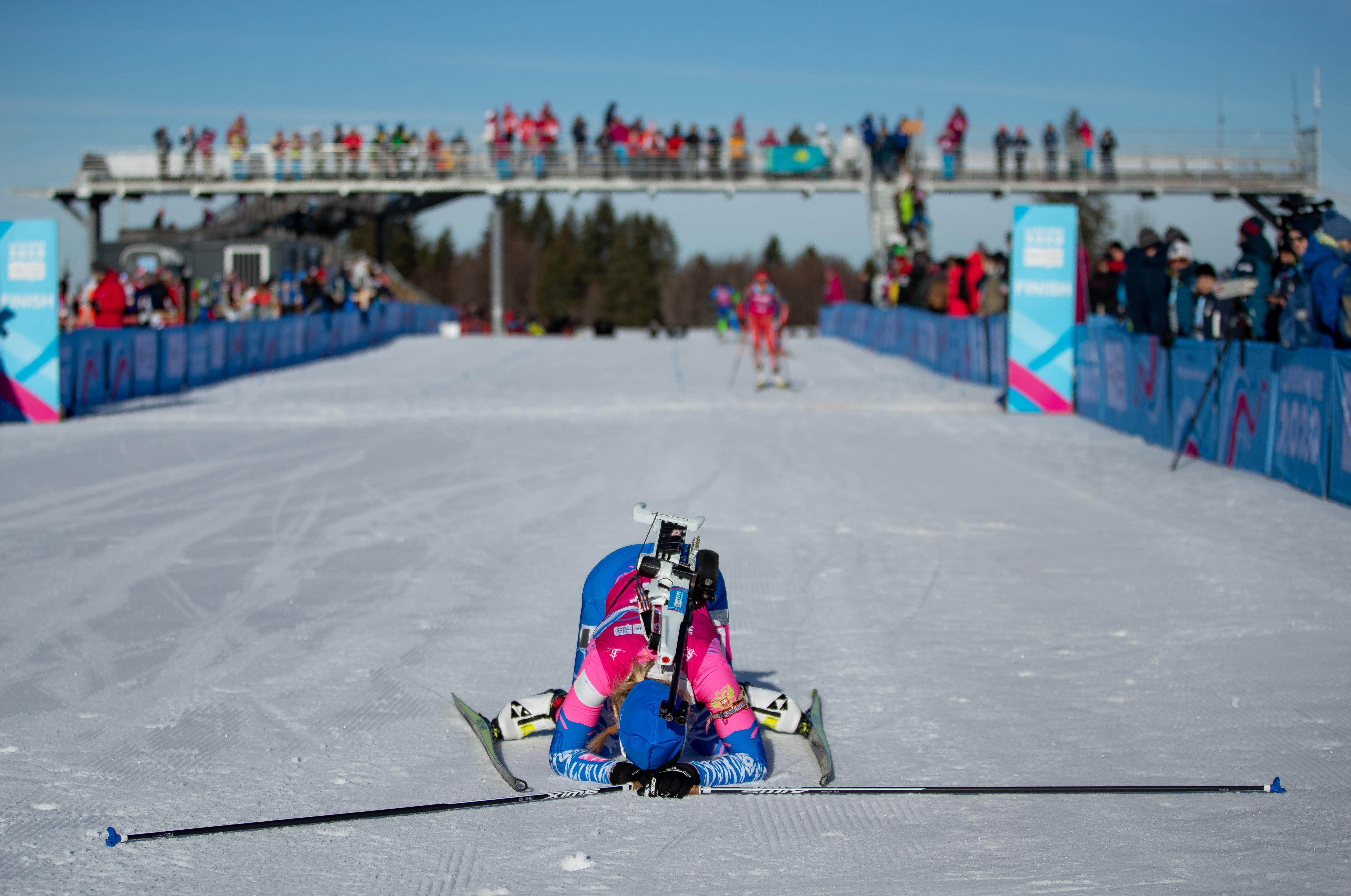 Mokhova heeft álles gegeven (Foto: OIS/Chloe Knott)